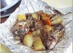 Курица с картошкой, в мультиварке или хлебопечке, для совсем ленивых