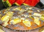 Пирог с кабачками А-ля ананасы