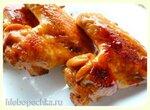 Куриные крылышки,  карамелизованные в газировке Байкал или кока-коле