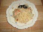 Рис с курицей и копчёным черносливом