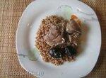 Куриная печень с копчёным черносливом в скороварке-мультиварке Steba DD2