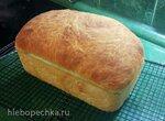 Хлеб деревенский формовой пшеничный (без замеса)