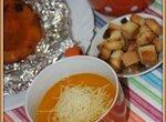 Суп-пюре из печёной тыквы на бульоне гриль (блендер–суповарка Vitek VT-2620)