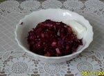 Оригинальный салат из краснокачанной капусты