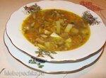 Грибной суп с гречневой крупой на курином бульоне (Redmond RMC-02, газовая панель)