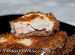 Киш, тарт из хлебцев с курицей