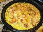 Омлет с рыбой, рисом и овощами (Tortilla Chef Princess)