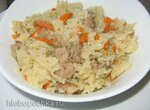 Каша рисовая с мясом типа плов в мультиварке Tefal RK-816E32