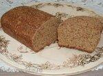 Отрубной дрожжевой хлеб с клейковиной и псиллиумом