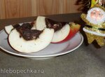 Яблочно-шоколадный десерт
