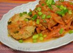 Тефтели из индейки, с овощным соусом (Прибор для выпечки Tortilla Chef 118000 Princess)