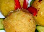 Фаршированная картошка по-перуански (Papa rellena)