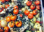 Козлятина с розмарином и овощами
