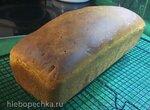 Пшеничный хлеб  для тостов на пахте