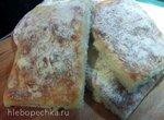 Лепёшка Чиабатта итальянская