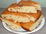 Пирог-кекс со сгущёнкой на кефире