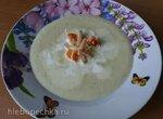 Крема ди брокколи (крем-суп из брокколи и голубого сыра)