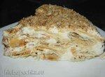 Торт слоеный сборный с масляным кремом
