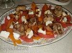 Салат капрезе (из тыквы)