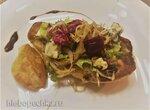 Салат с голубым сыром и грушей