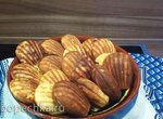 Печенье Мадлен творожно-яблочные в печеннице   Princess 132404