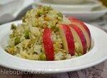 Каша-гарнир рисовая с грибами и зеленым горошком (мультиварка Redmond RMC-01)
