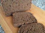 Хлеб а-ля бородинский на закваске в хлебопечке