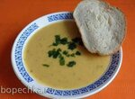 Постный суп-пюре гороховый с овощами в мультиварке Philips HD4726/03