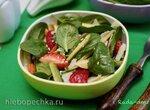 Салат Клубника-авокадо для тонкой талии и прекрасного настроения