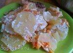 Картошка в сметане (медленноварка)
