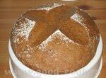 Хлеб содовый с ржаной мукой в мультиварке Panasonic