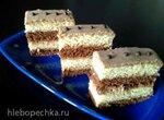 Пирожное Дуэт в шоколаде