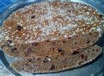 Хлеб Ржаной на закваске с изюмом и тмином (прибор для выпечки Tortilla Chef Princess 118000)