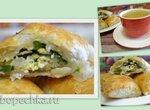 Капустная начинка для пирогов и пирожков, с грибами и яйцами
