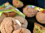 Печенье с мелассой и изюмом