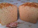 Хлеб бобово-гречневый без глютена