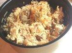 Рис с курицей и замороженными овощами в мультиварке