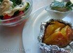 Картофель Папасад с сырным соусом - фирменное блюдо ресторана Лидо