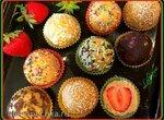 Пирожные без выпечки Клубничные шарики