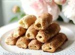 Песочное печенье с ревенем