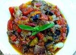 Имам Байилды (овощное блюдо с баклажанами с добавлением мяса)
