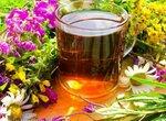 Чайный микс Иван-чая с листьями садовых растений и ольхи