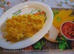 Паста в густом оранжевом соусе (Мультиварка Redmond RMC-02)