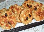 Диетические овсяно-яблочные печеньки
