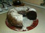Шоколадно-черный кекс