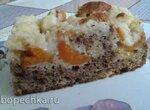 Фруктовый пирог со штрейзелем