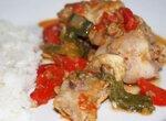Курица, тушёная с овощами «Богема»