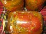 Помидоры по-корейски (вариант с морковью)