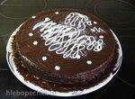 Торт песочно-шоколадный (ГОСТ-1975)