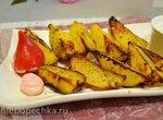 Картофель запеченный на купольном гриле